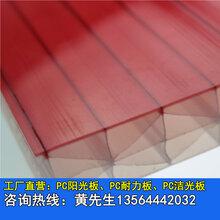 供应武汉16mm蜂窝阳光板武汉透明pc耐力板武汉阳光板配件图片