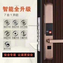 指纹密码锁批发零售安装图片