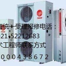 上海特灵中央空调不制冷热厂家维修图片