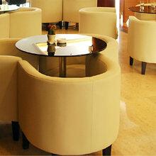 重庆茶楼卡座沙发厂图片