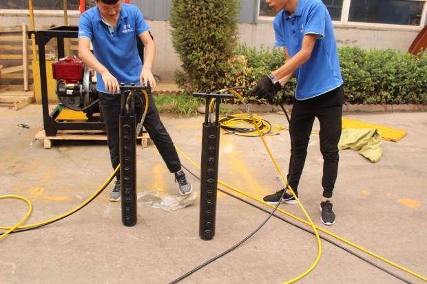惠州市石头太硬不能放炮分裂棒生产厂家