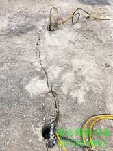 不用爆破直接开挖破除坚硬岩石用什么机械公司富源县图片