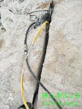 地下管道开挖遇到岩石用劈裂机禹王台区厂家