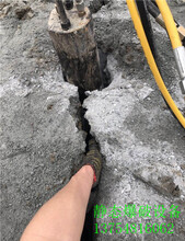隧道挖掘液压劈裂机技术老练恭城瑶族自治县图片