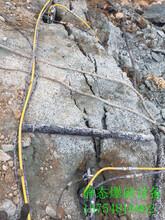 不用爆破直接开挖破除坚硬岩石用什么机械哪家好用点沭阳县图片