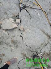 开硬石头挖机太慢劈裂机三江侗族自治县厂家