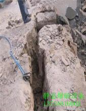 不用爆破直接开挖破除坚硬岩石用什么机械能劈开多硬的石头包河区图片