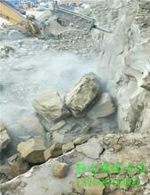 不用爆破直接开挖破除坚硬岩石用什么机械能劈开多硬的石头金牛区图片
