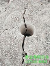宣化县愚公斧岩石劈裂机厂家图片