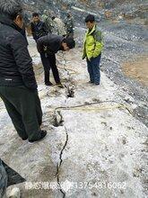 江山市采石场无法放炮怎么办用劈裂机