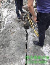 天全县静态开挖破石器打孔布控教学不受环境影响