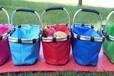 供应厂家批发定做野餐篮野餐包野餐篮欧美购物篮保温篮