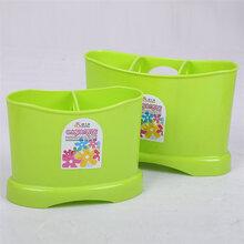厂家供应多用塑料筷子筒批发采购、可按需定制LOGO图片