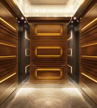 廣東豪華電梯裝潢圖片