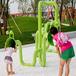 廠家定制兒童戶外不銹鋼傳聲筒聲感游樂設備趣味兒童傳音傳話筒