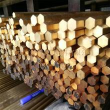 高純度易切H62六角黃銅棒耐腐蝕環保黃銅棒圖片