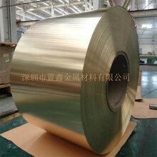 厂家直销精密黄铜带C7400铜管带黄铜带零切加工图片