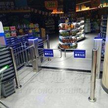 包邮鑫翼通超市感应门红外感应门超市摆闸LED全自动感应门