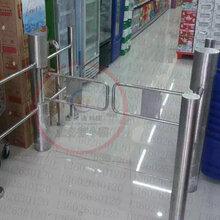 全国包邮4200¥超市感应门6柱圆柱红外感应出入口控制