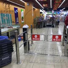 全国包邮5100¥超市感应门6柱方柱红外感应出入口控制