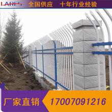 江西宜春小区锌钢栅栏锌钢阳台护栏草坪隔离护栏厂家直销