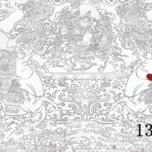 佛山純手工鍛銅彩繪浮雕壁畫背景墻制作廠家圖片