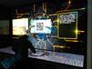 上海三星55寸3.5mm電視墻液壓前維護支架拼接屏支架LED無縫拼接屏
