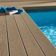 星级酒店、度假村户外游泳池铺板防滑防潮不扎脚安全地板