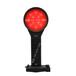 FL4830雙面伸縮方位燈LED充電紅閃警示燈鐵路信號紅光閃爍鐵路信號燈