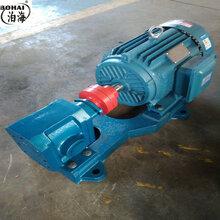 湖北齒輪泵ZYB燃燒器油泵高壓耐磨重油泵圖片
