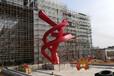 紐帶不銹鋼雕塑_陽江不銹鋼城市廣場雕塑實例