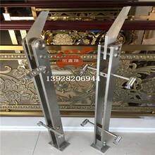 不銹鋼欄桿立柱,不銹鋼立柱廠家專業定制圖片