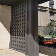 弧形不銹鋼景觀柱,不銹鋼背景墻裝飾,異型金屬制品定制