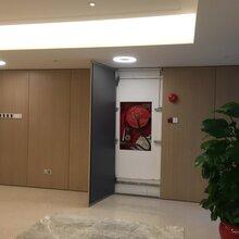 广州韩国现代木纹膜挂板/单面挂板/马斯柯隔墙图片