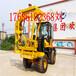 供應裝載機式公路護欄打樁機護欄鉆孔機公路樁工機械