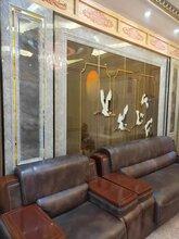 玻璃背景墙,密度板背景墙,刨花板背景墙,全哑背景墙技术设备图片