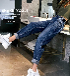 2018最新牛仔褲批發價格河北保定哪里有廠家牛仔褲地攤便宜牛仔褲低價批發秋季