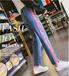 擺地攤批發便宜牛仔褲清倉庫存牛仔褲處理雜款牛仔褲幾元批發