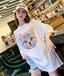 河北批发时尚T恤女装短袖热卖T恤2元T恤地摊货源工厂