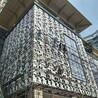 广东铝合金窗花厂家专业定制各种仿古木纹铝花格复古铝窗花
