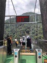 湖南玻璃桥限流门禁系统,索道检票通道闸系统安装