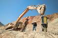 陕西安康矿山开采破裂岩石分裂机