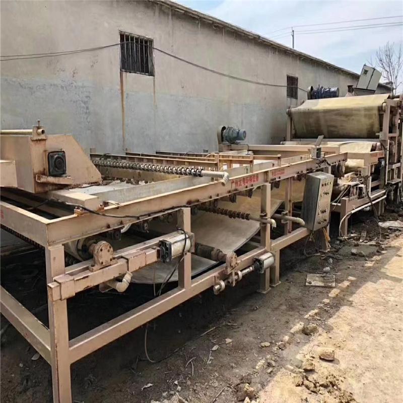 黄山出售八成新3x12米带式压滤机带式过滤机污水处理设备