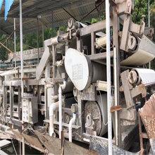出卖二手3X12带式压滤机洗疆场公用二手污泥脱水压滤机图片