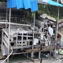 安徽现出售二手3x12带式米压滤机污泥脱水压榨机污水处理机图片