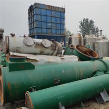 现货出售二手中压冷凝器二手10-120平方不锈钢冷凝器化工厂设备图片
