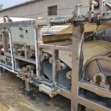 回收各种洗沙场污水处理二手压滤机美邦二手带式压滤机二手3X11米带式压滤机图片