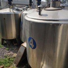 出售二手三层搅拌罐二手夹套加热带保温的不锈钢搅拌罐二手2立方搅拌罐图片