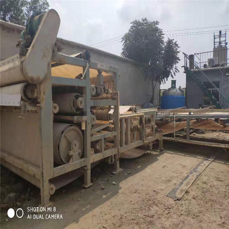 江西出售矿场污水处理设备二手3x12米带式压滤机二手污泥脱水机