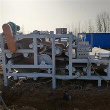芜湖出售洗沙场用的二手3X12带式压滤机二手带式压滤机机图片